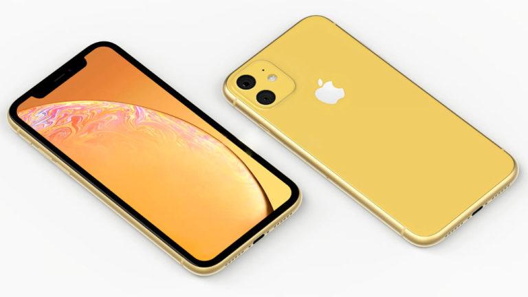 Смартфон iPhone XR 2019 должен получить лавандовую и зеленую расцветки